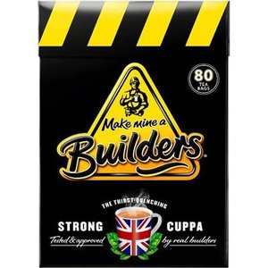Builder's Builder's Strong British Tea - 80CT