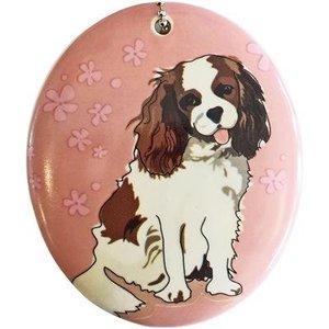 Go Dog Ceramic Ornament - King Charles Spaniel