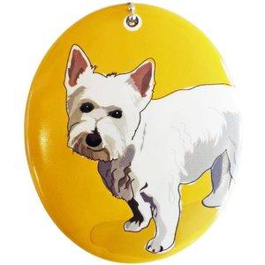 Go Dog Ceramic Ornament - Westie