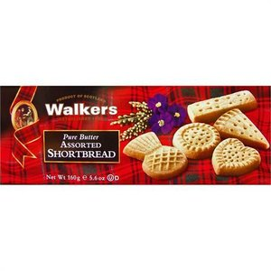Walker's Shortbread Co. Walkers Assorted Shortbread Box - 160g