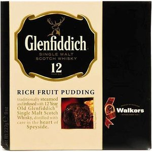 Walker's Shortbread Co. Walker's Glenfiddich Christmas Pudding - 227g