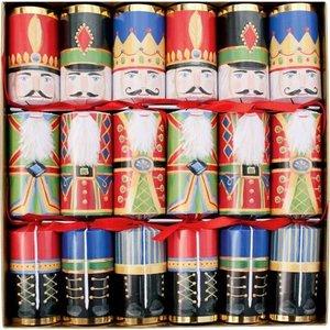 Caspari Caspari Christmas Crackers - Nutcrackers - 6 Count