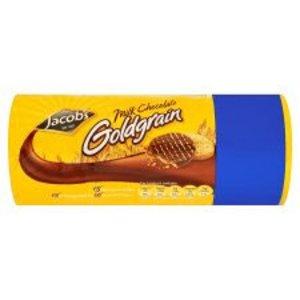 Jacob's Jacob's Milk Chocolate Goldgrain Biscuits