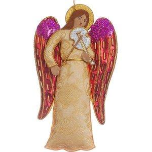 St. Nicolas St. Nicolas Violin Angel Ornament