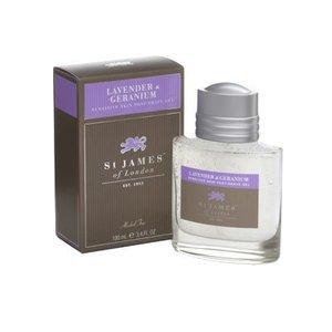 St. James of London St. James Lavender & Geranium Sensitive Skin Post-Shave Gel