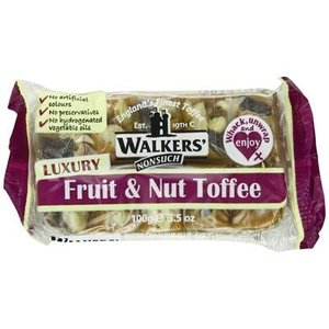 Walkers Nonsuch Walkers Fruit and Nut Toffee - 100g