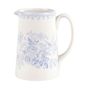 Burleigh Pottery Asiatic Pheasants Blue Medium Tankard Jug
