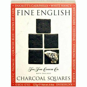 The Fine Cheese Company Fine English Cheese Co. Charcoal Crackers
