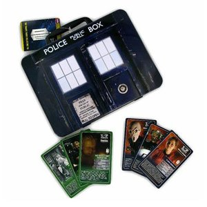 Doctor Who Top Trumps TARDIS Collectors Tin (Lunchbox)