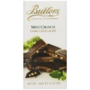 Butler's Butlers Dark Chocolate and Mint Crunch Bar