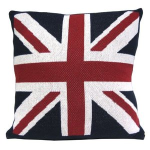 In2Green Union Jack Square Pillow