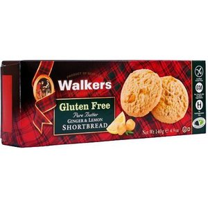 Walker's Shortbread Co. Walkers Gluten Free Shortbread - Ginger and Lemon