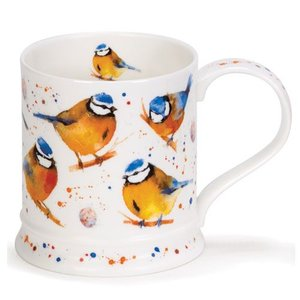 Dunoon Dunoon Iona Garden Birds Mug - Blue Tit