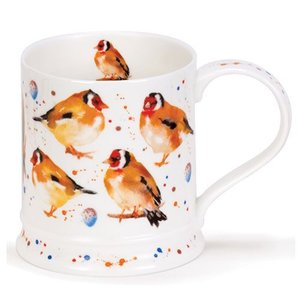 Dunoon Dunoon Iona Garden Birds Mug - Goldfinch