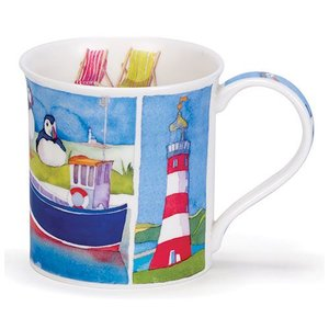 Dunoon Dunoon Bute Sunny Cove Mug - Lighthouse