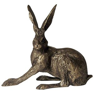 Frith Sculpture Frith Hare Crouching : SA005
