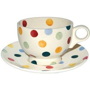 Emma Bridgewater Bridgewater Polka Dot Breakfast Cup & Saucer