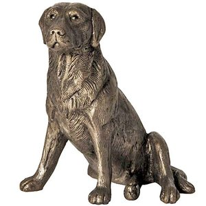 Frith Sculpture Frith Nigel Labrador Sitting : MK004
