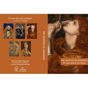 the fitzwilliam musuem Fitzwilliam Museum Pre-Raphaelite Heroines Notecards