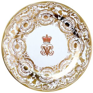Royal Albert Royal Collection The Victoria and Albert Tin Plate