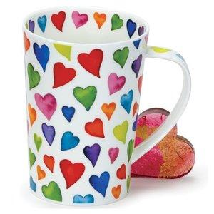 Dunoon Dunoon Argyll Warm Hearts Mug