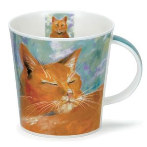 Dunoon Dunoon Cairngorm Cats on Canvas Mug - Ginger
