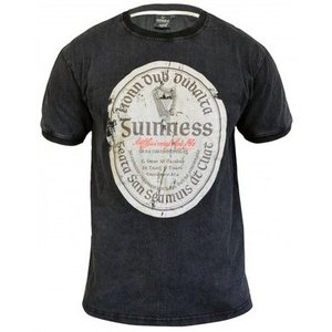 Guinness Guinness Distressed Gaelic Label Tee