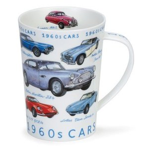 Dunoon Dunoon Argyll 1960s Classic Cars Mug