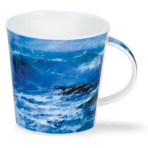 Dunoon Dunoon Cairngorm Breaking Waves Mug - Blue