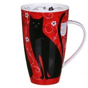 Dunoon Dunoon Henley Tall Tails Mug - Black