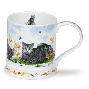 Dunoon Dunoon Iona Garden Cats Mug -  Tabby