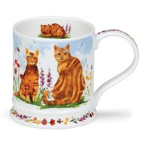 Dunoon Dunoon Iona Garden Cats Mug -  Ginger