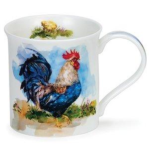 Dunoon Dunoon Bute Cockerels Mug - Blue