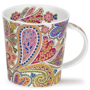 Dunoon Dunoon Lomond Paisley Mug - Green
