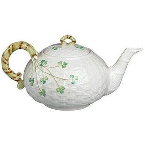 Belleek Belleek Shamrock Teapot