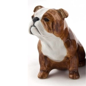 Quail Ceramics Quail English Bulldog Figure