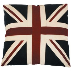 "Woven Magic 18"" Union Jack Square Cushion"