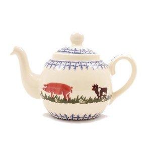 Brixton Pottery Brixton Farm Animals Teapot - 2 Cup
