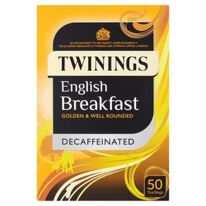 Twinings Twinings 50ct English Breakfast Decaffeinated