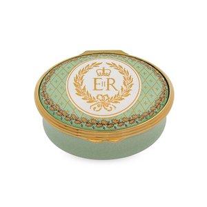 Halcyon Days HM Queen Elizabeth II 90th Birthday Memento Box