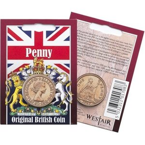 Westair Reproductions - Elizabeth II Penny Coin Pack