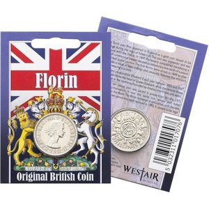 Westair Reproductions - Elizabeth II Florin Coin Pack