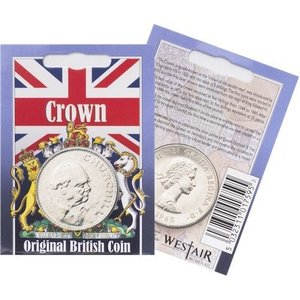 Westair Reproductions - Elizabeth II Churchill Crown Coin Pack