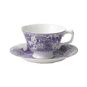 Royal Crown Derby Royal Crown Derby Mikado Lavender Teacup & Saucer