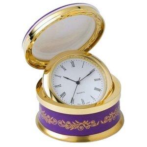 Hudson Middleton Queen's 90th Birthday Hinged Clock Box