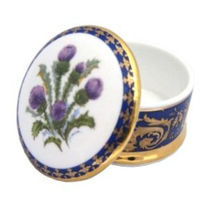 Flowers of Scotland Collectible Box