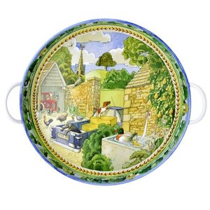 Matthew Rice - Year In The Country Farmyard Tray