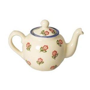 Brixton Pottery Brixton Pottery Rose Teapot - 2 Cup