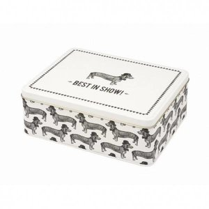 Alice Scott Sausage Dog Tin