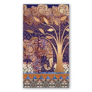 Michel Design Works Michel Lotus Leaf Hostess Napkins